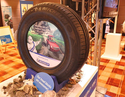 Новые шины Michelin отлично подходят для езды по захламленным дорогам