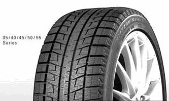 Зимние шины Bridgestone Blizzak Revo 2 - низкопрофильные типоразмеры
