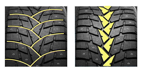 «имн¤¤ шина Dunlop SP Winter Ice 02 245/45 R17 99T - фото 9