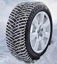 шина GoodYear UltraGrip Ice Arctic - V образная форма ламелей, а также разрезы в протекторе, повышают уровень сцепления со снежной дорогой